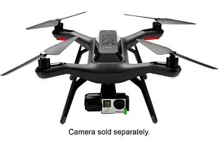 3D Robotics Unmanned Aerial Vehicle GoPro Quadcopter Technology PNG