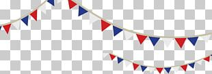 Bunting Independence Day Flag United States PNG