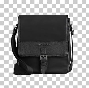 Messenger Bag Leather Burberry Handbag PNG