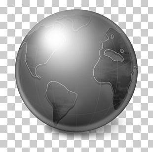 Sphere Circle Black PNG