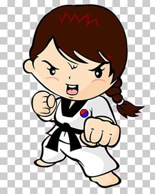 Taekwondo Karate Martial Arts Woman Kick PNG
