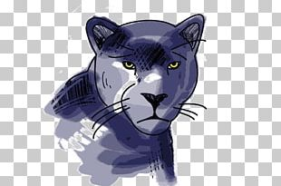 Black Panther Whiskers Satchel Scout Big Cat PNG
