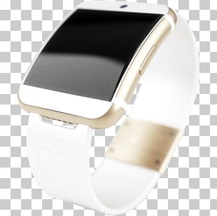 Watch Strap Silver PNG