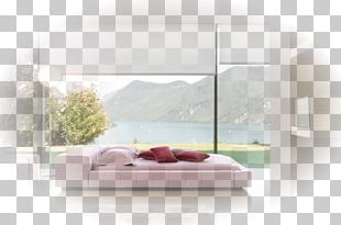 Bedroom Platform Bed Furniture Window PNG