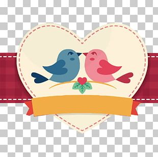 Bird Valentines Day PNG