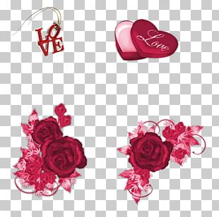 Garden Roses Cut Flowers Pink M Body Jewellery Petal PNG