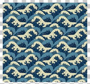 The Great Wave Off Kanagawa Japan Wind Wave Pattern PNG