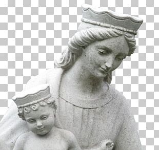 Assumption Of Mary Statue Religion Sculpture PNG