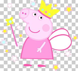 Birthday Cake Pig Party PNG