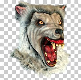 Halloween Costume Werewolf Mask PNG