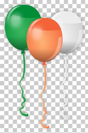 Saint Patrick's Day Balloon Party PNG