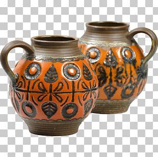 Jug Vase Ceramic Pottery Pitcher PNG