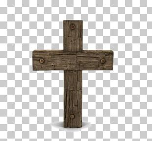 Cross Wood Icon PNG