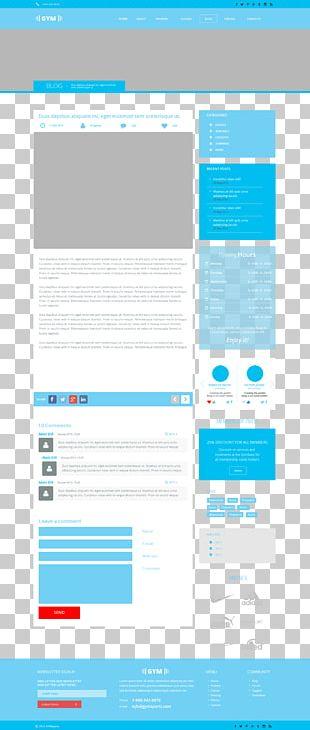 Responsive Web Design Web Page Web Template PNG