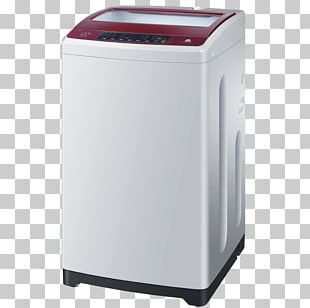 Washing Machine Haier Home Appliance PNG
