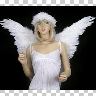 Angel Feather Wing Child White PNG