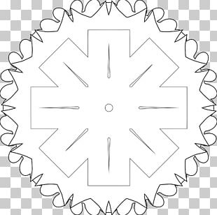 Black And White Line Art PNG