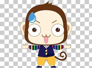 Cartoon Monkey PNG