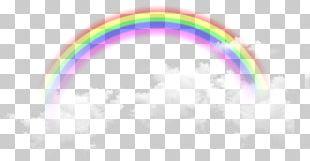 Sky Rainbow Pattern PNG