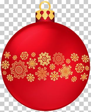 Christmas Ornament Ball Snowflake PNG