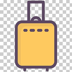 Flight Travel Suitcase Baggage Computer Icons PNG