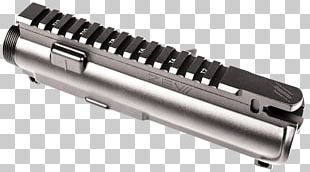 Gun Barrel Receiver Firearm AR-15 Style Rifle 5.56×45mm NATO PNG