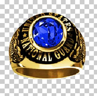 Sapphire National Guard Of The United States Ring Size Jewellery PNG