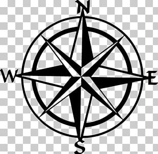 Compass Rose Drawing PNG