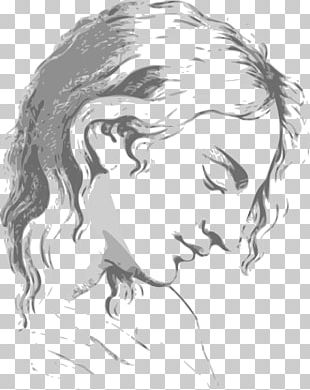 Drawing Woman Illustration PNG