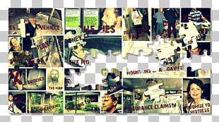 Collage Poster Photomontage Recreation PNG
