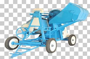 Heavy Machinery Universal Concrete Cement Mixers PNG