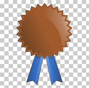 Award Ribbon Prize Gold Medal PNG