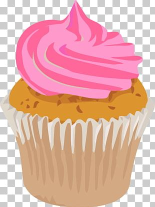 Cupcake Frosting & Icing Chocolate Cake PNG