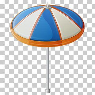 Sandy Beach Vacation Umbrella Seaside Resort PNG