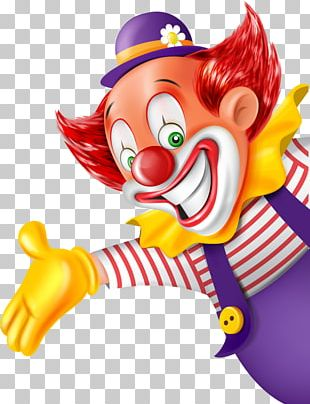 Clown Party Circus PNG