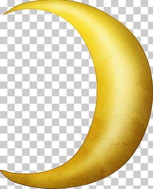 Crescent Moon Lunar Phase PNG