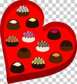 Valentine's Day Heart Chocolate PNG
