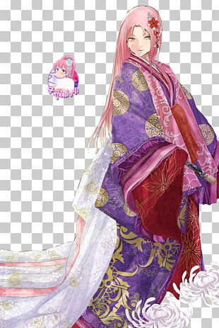 Sakura Haruno Kakashi Hatake Sasuke Uchiha Kimono Naruto PNG