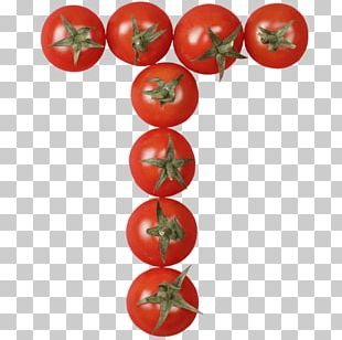 Plum Tomato Letter Food Vegetable PNG