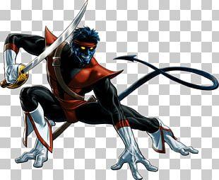 Nightcrawler Professor X Gambit Wolverine X-Men Legends PNG