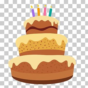 Birthday Cake Frosting & Icing Animation PNG