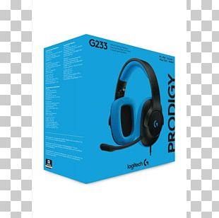 Logitech G233 Prodigy Logitech Gaming Headset G233 Prodigy Headphones Microphone PNG