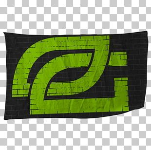 OpTic Gaming Electronic Sports DXRacer Green Wall Video Game PNG