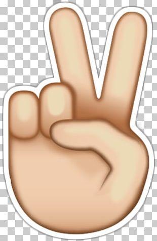 Emoji Peace Symbols Sticker Emoticon PNG