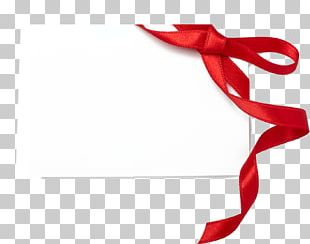 Red Ribbon Stock Photography Gift Wrapping PNG