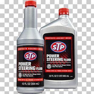 Car Power Steering Motor Oil STP PNG