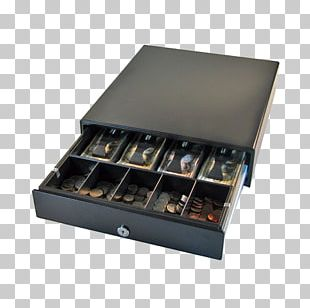 Drawer Cash Register Coin Box Money PNG