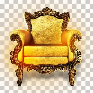 Chair Throne Couch Furniture PNG