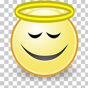 Smiley Emoticon Angel Face PNG