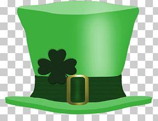 Saint Patrick's Day Hat Leprechaun Shamrock PNG